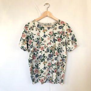 Tops - Vintage Floral T-Shirt